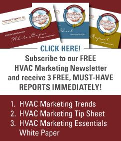 HVAC Newsletter Sign-up
