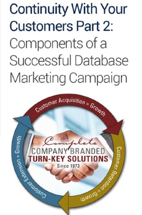 Intro to Database Marketing
