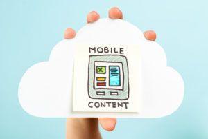mobile content