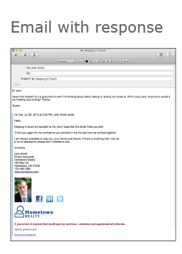 Real Estate Email with Lead Generation