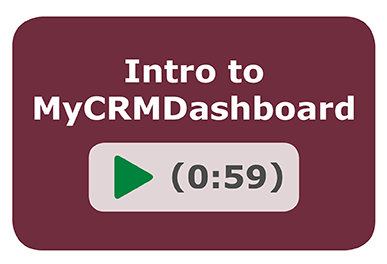 Intro to MyCRMDashboard