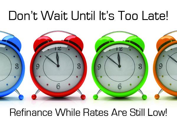 Refinance Time #8900A