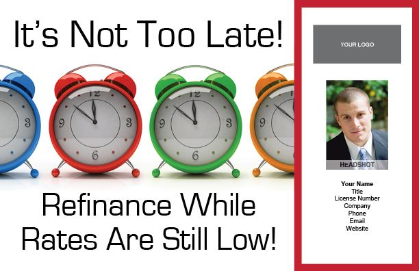 Refinance Time #8900B