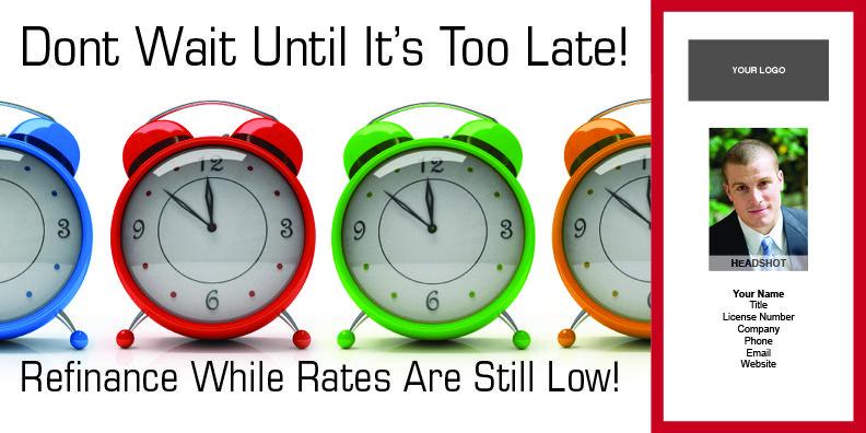 Refinance Time #8900C