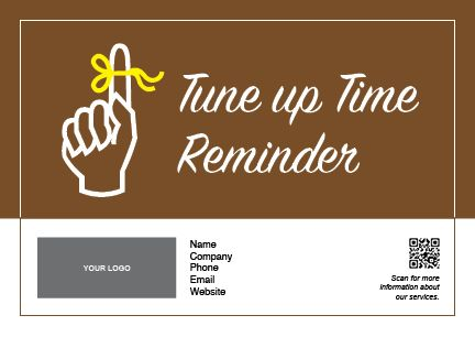 Tune Up Reminder #8951A