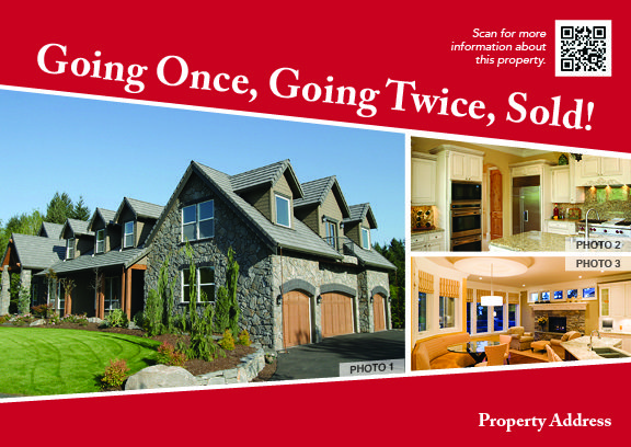 Going Once, Going Twice, SOLD!