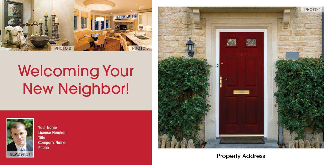 Welcoming Your New Neighbor #9607C