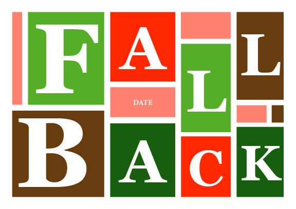 Fall Back #9728A