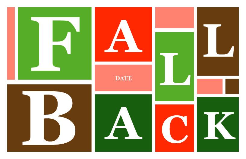 Fall Back #9728B