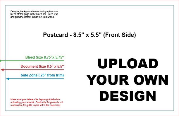 Upload Your Own Design & Ship #9799B