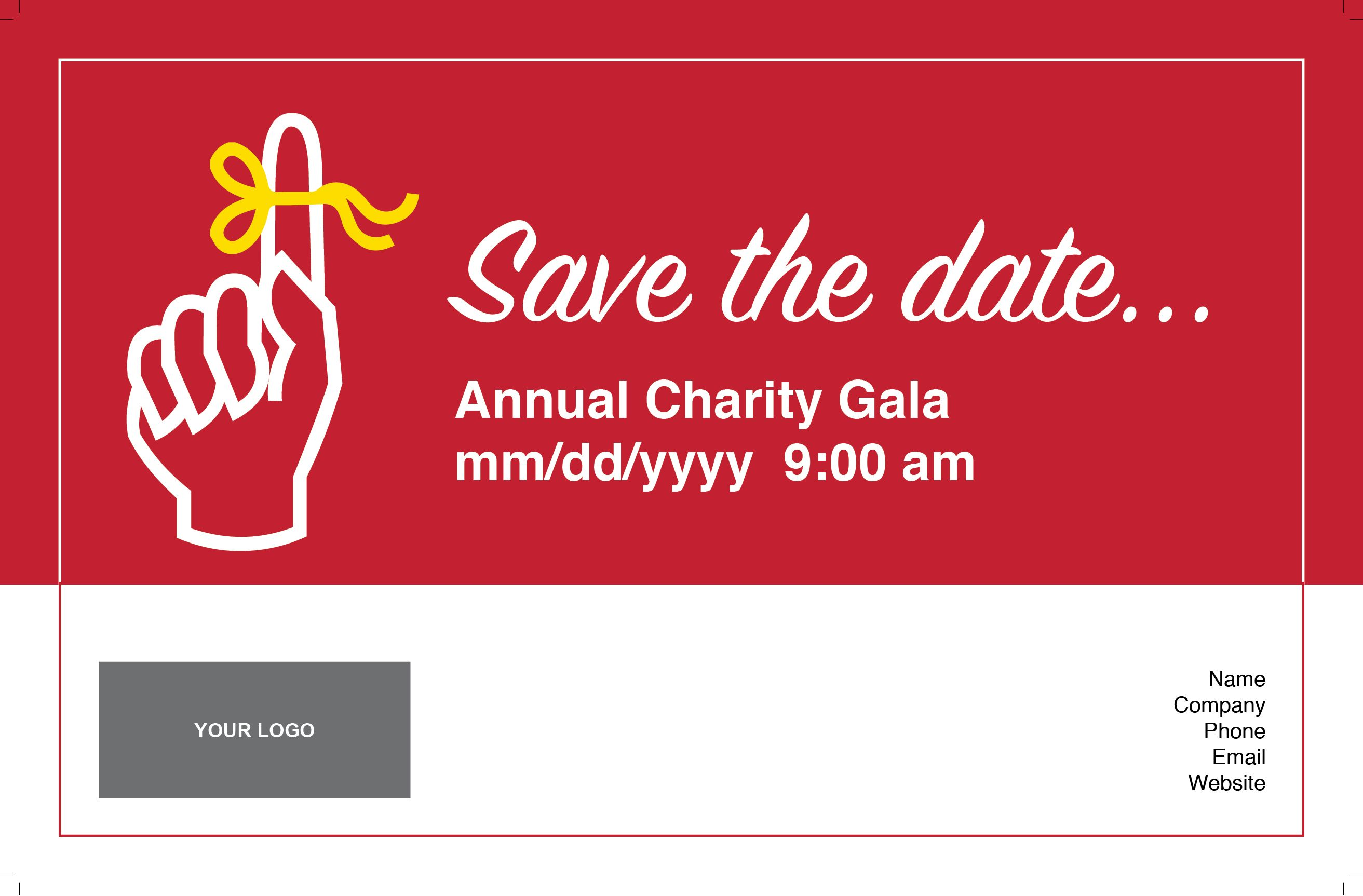 Save The Date #9801B