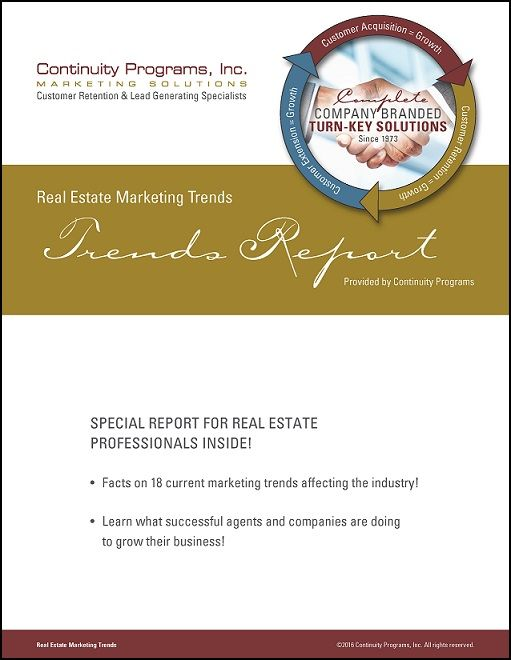 Real Estate Marketing Trends Report
