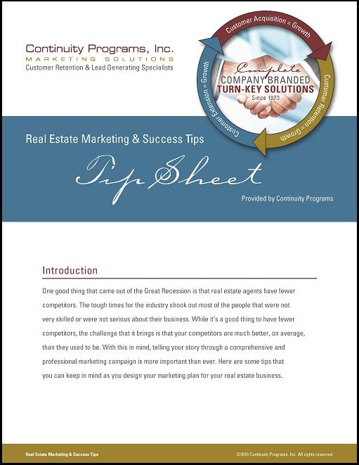 Real Estate Marketing and Success Tips