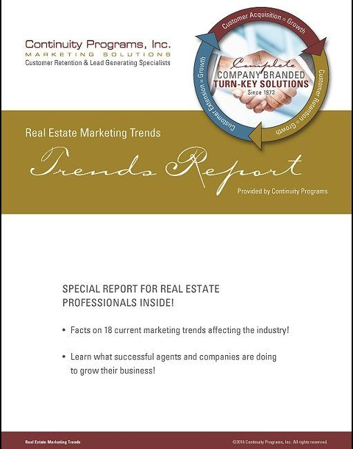 Real Estate Trends Report Cover