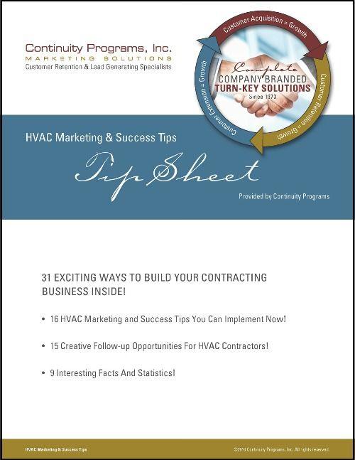 HVAC Marketing and Success Tips