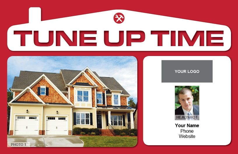 Contractor Tuneup Reminder Postcard