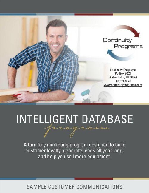 Contractor Marketing Intelligent Database Program Samples