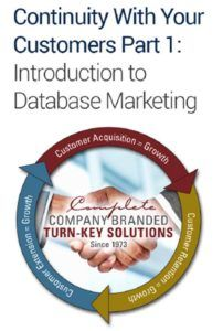 Intro to Database Marketing