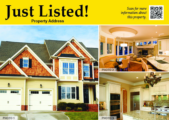 Just Listed #9505B Postcard