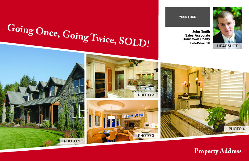 Going Once, Going Twice, SOLD! #9602B