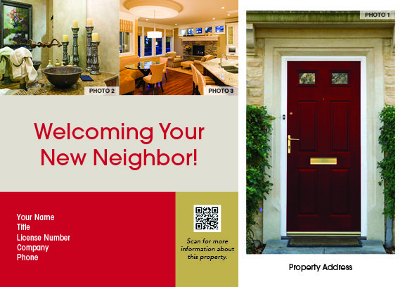 Welcoming Your New Neighbor Postcard