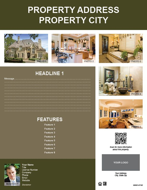 Listing Flyer #9713E (Shipped To You)