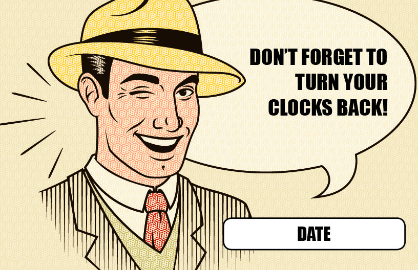 Daylight Savings Reminder