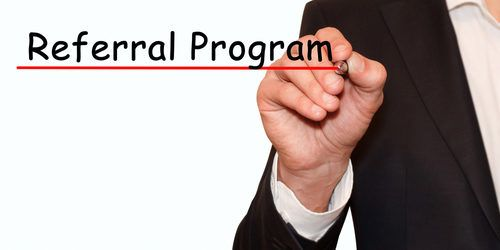 Mortgage referral program