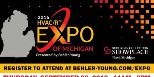 2016 HVAC/R Expo of Michigan