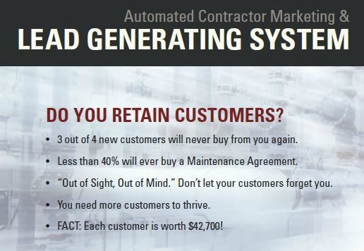 Automated Contractor Marketing and Lead Generating System