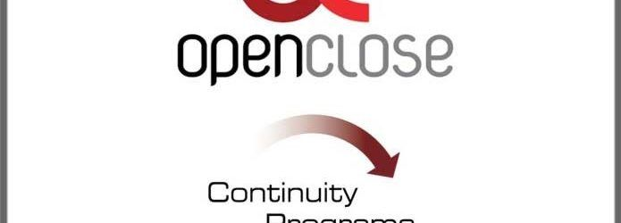 OpenClose Continuity Programs